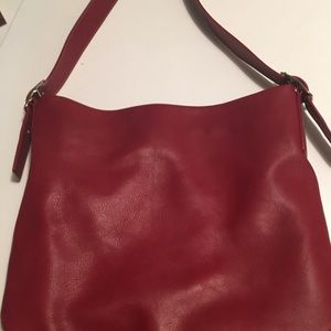 TRUE VINTAGE NWOT Coach Leather Tote Bag